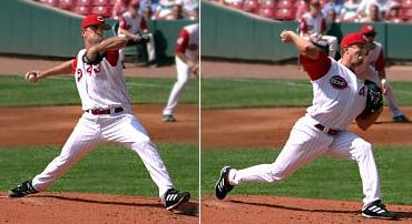 Lancer une balle de baseball