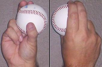 Baseball : Prise slider